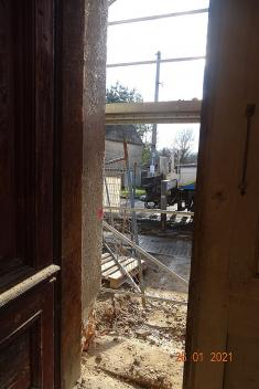 Pohled zevstupních dveří