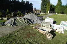 Schody k bařickému hřbitovu