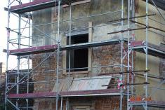 Rekonstrukce bývalé školy nabytový dům očima místního fotografa 7
