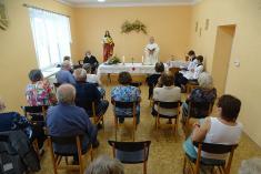 Mše svatá - Bařice 12. června