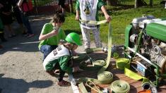Tradiční hodové slavnosti sv. Floriána - požehnání nového hasičského praporu