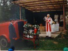 Svěcení stříkačky r. 2000