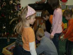 Vystoupení dětí