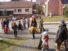 Pochůzka obcí